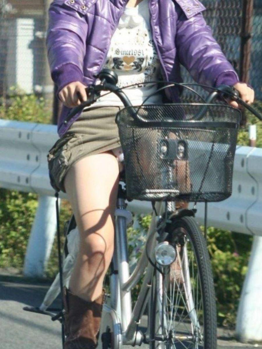自転車のパンチラ画像 120