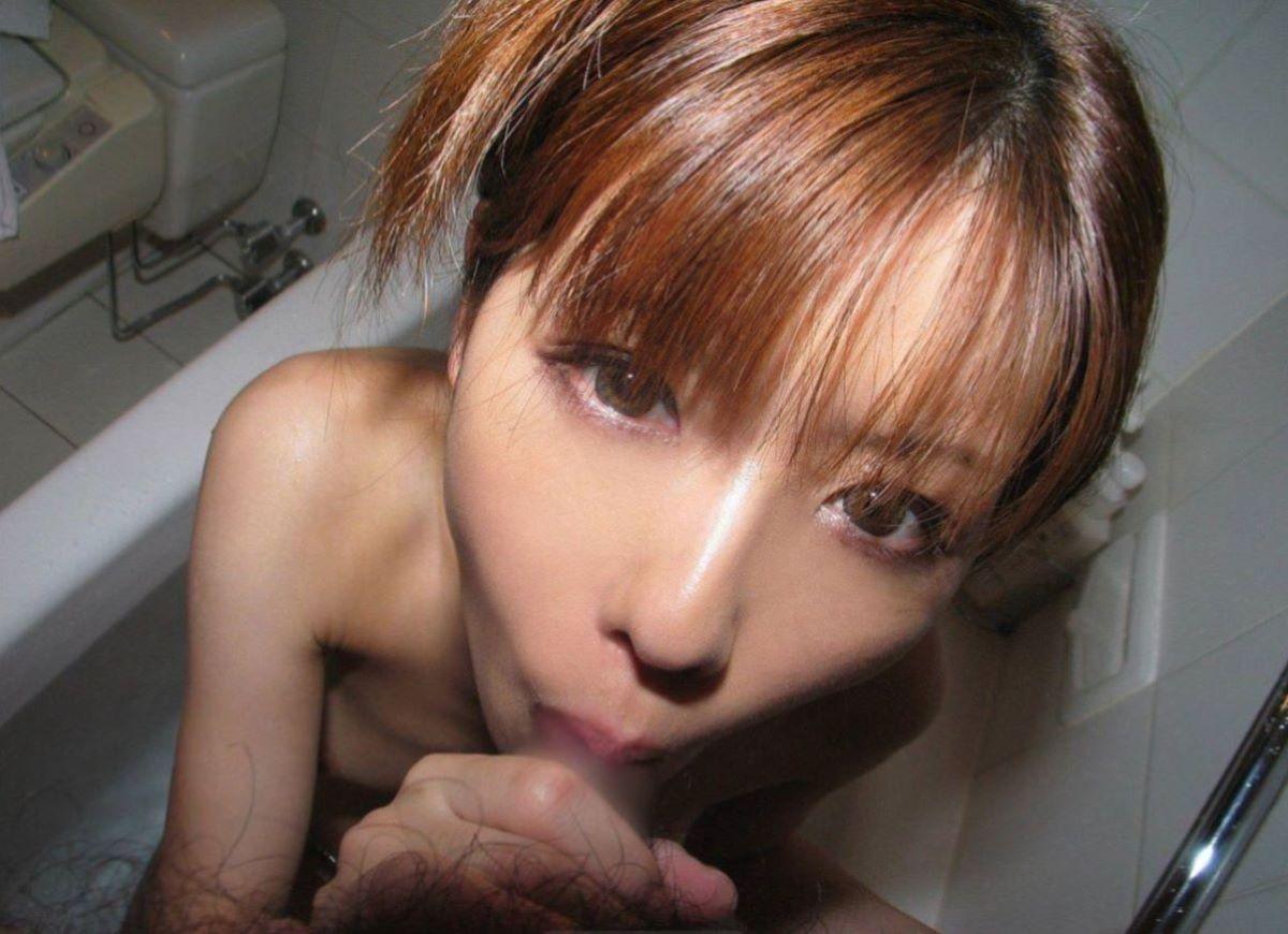 入浴中のフェラチオ画像 109