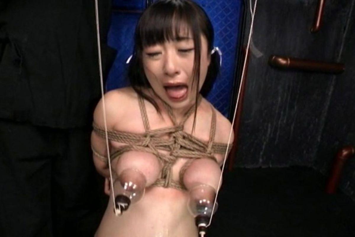 乳首吸引のSM画像 62