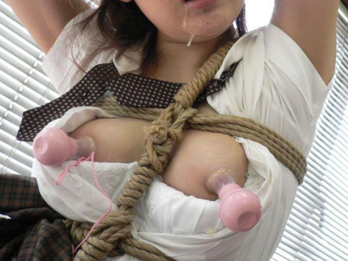 乳首吸引のSM画像 75