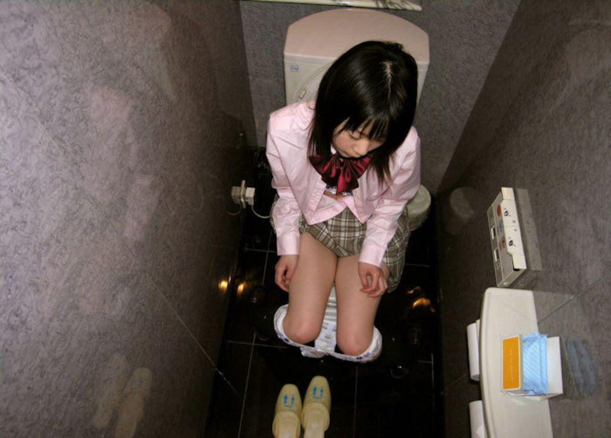 洋式トイレのエロ画像 11