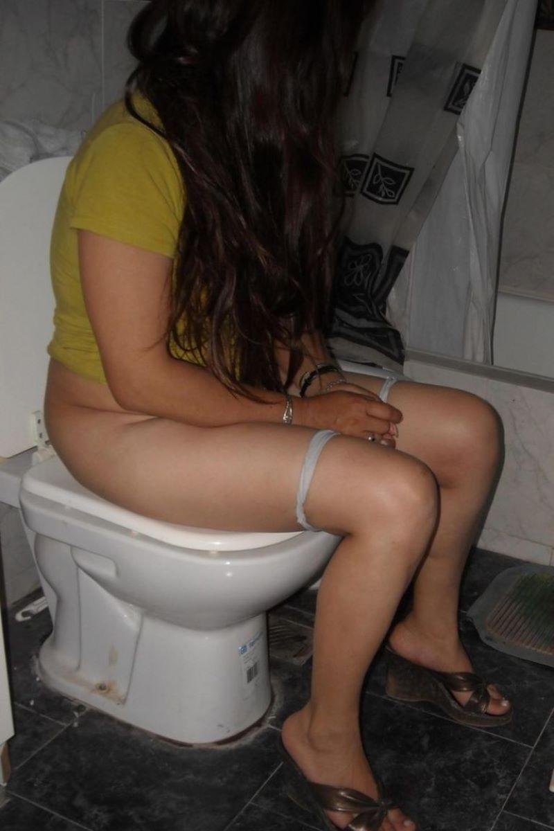 洋式トイレのエロ画像 66