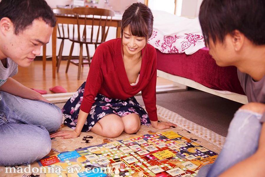 浮きブラ奥さん 川上奈々美 エロ画像 8
