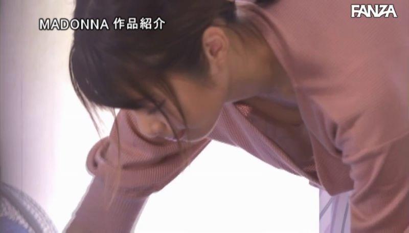 浮きブラ奥さん 川上奈々美 エロ画像 14