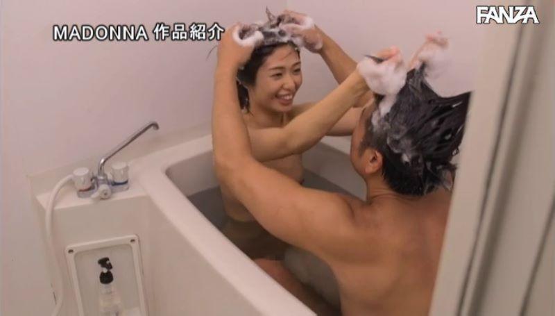 浮きブラ奥さん 川上奈々美 エロ画像 46