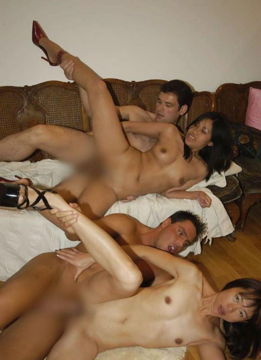 アジア人女性のセックス画像 36