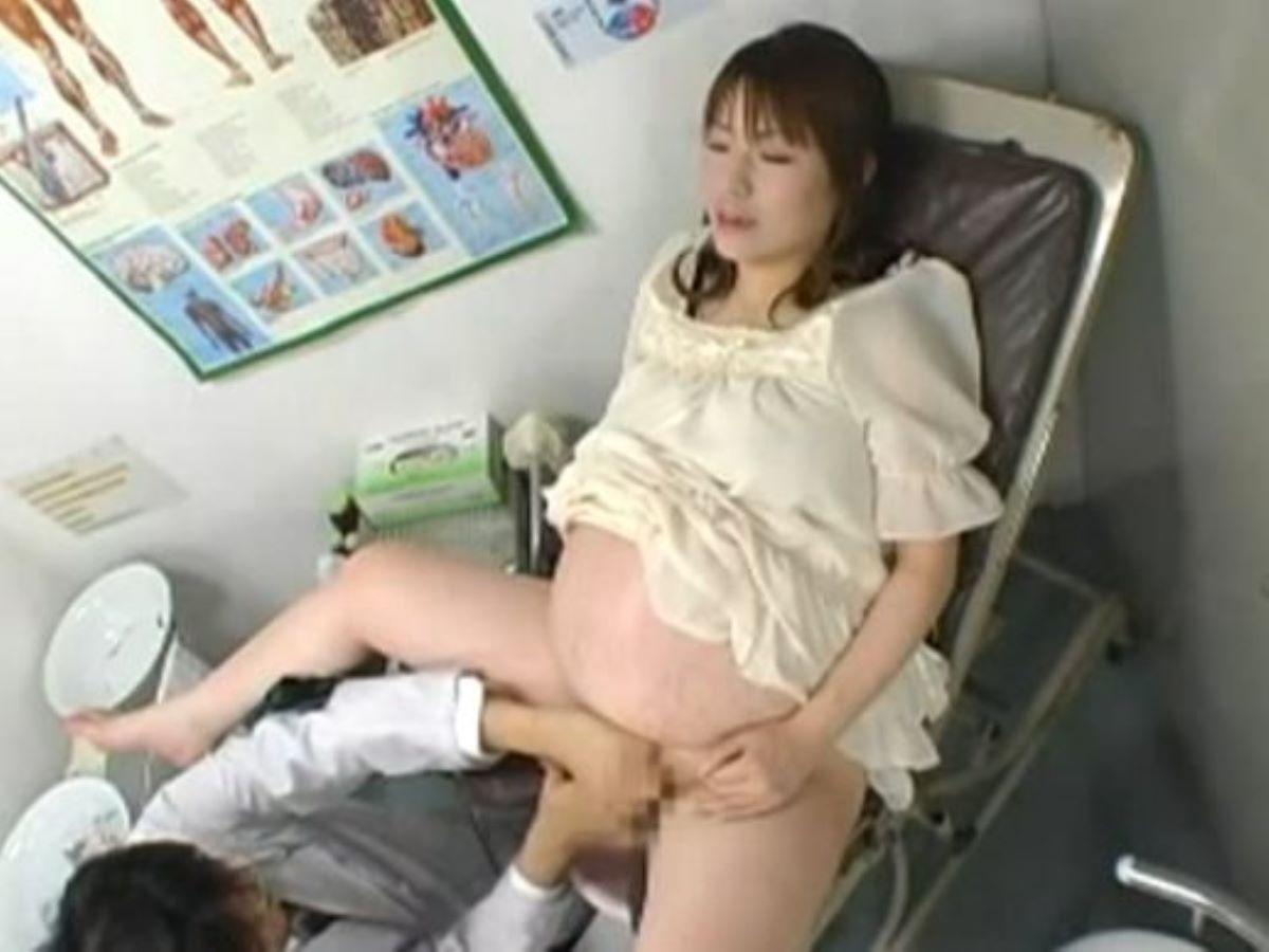 妊娠中の妊婦セックス画像 57