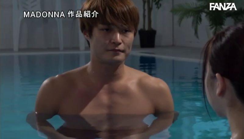人妻・大浦真奈美の水泳教室セックス画像 38