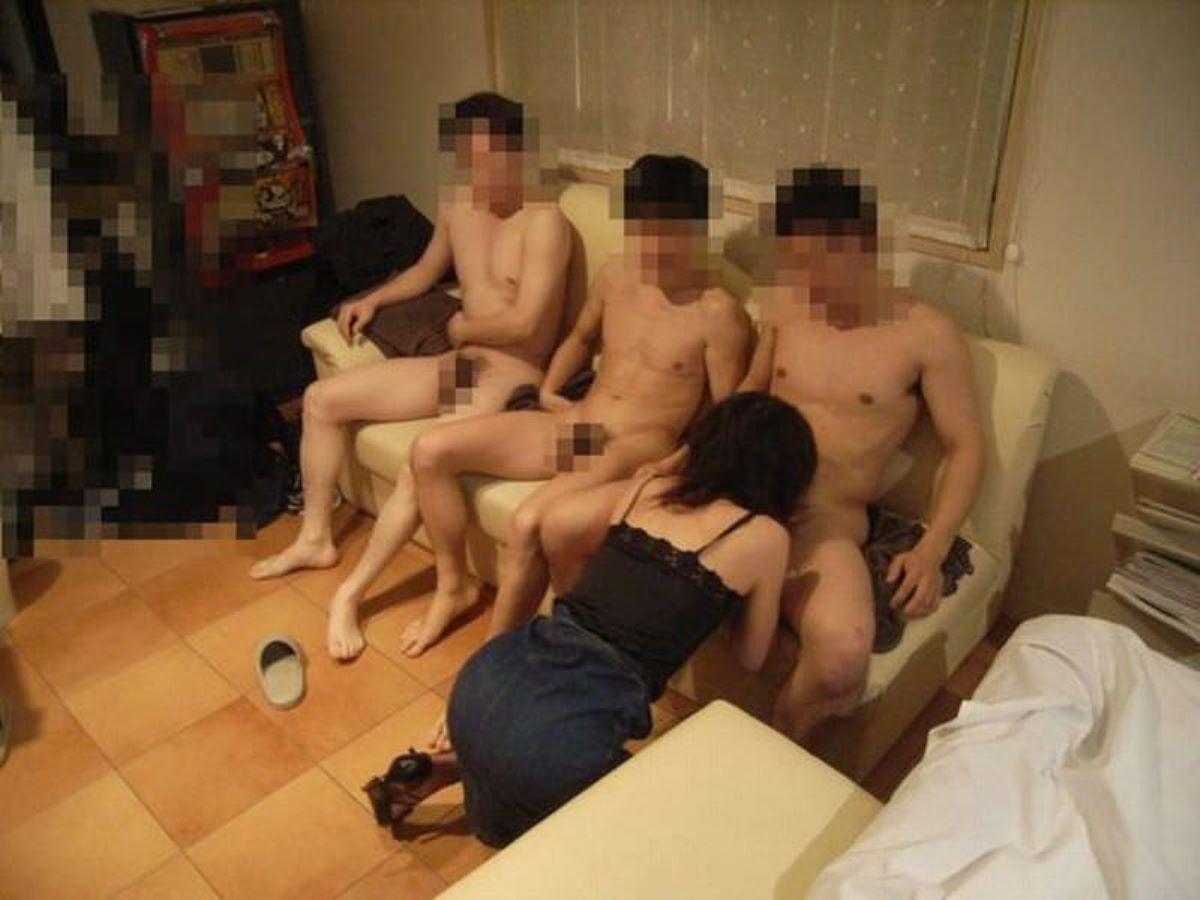 素人の乱交セックス画像 5