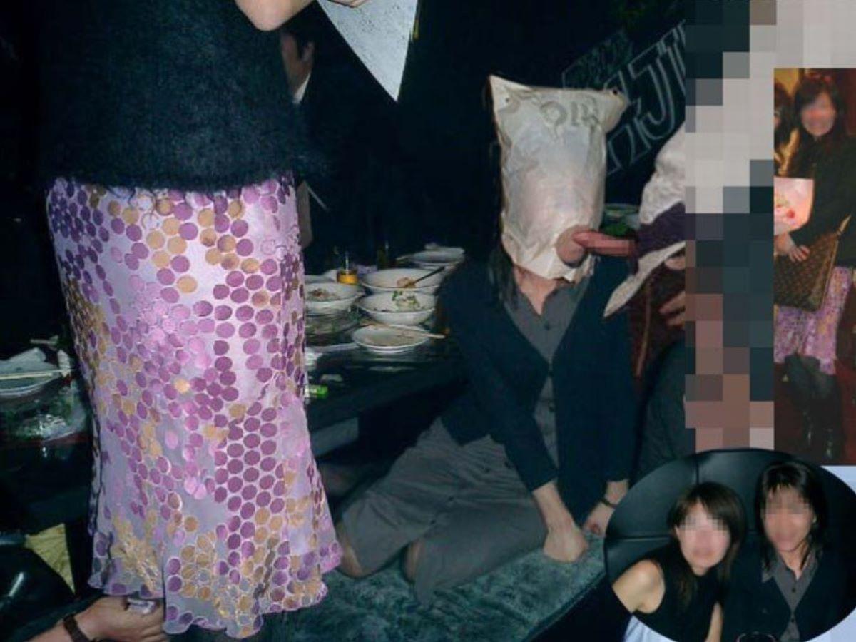 宴会など飲み会でのセクハラ・わいせつ画像 15