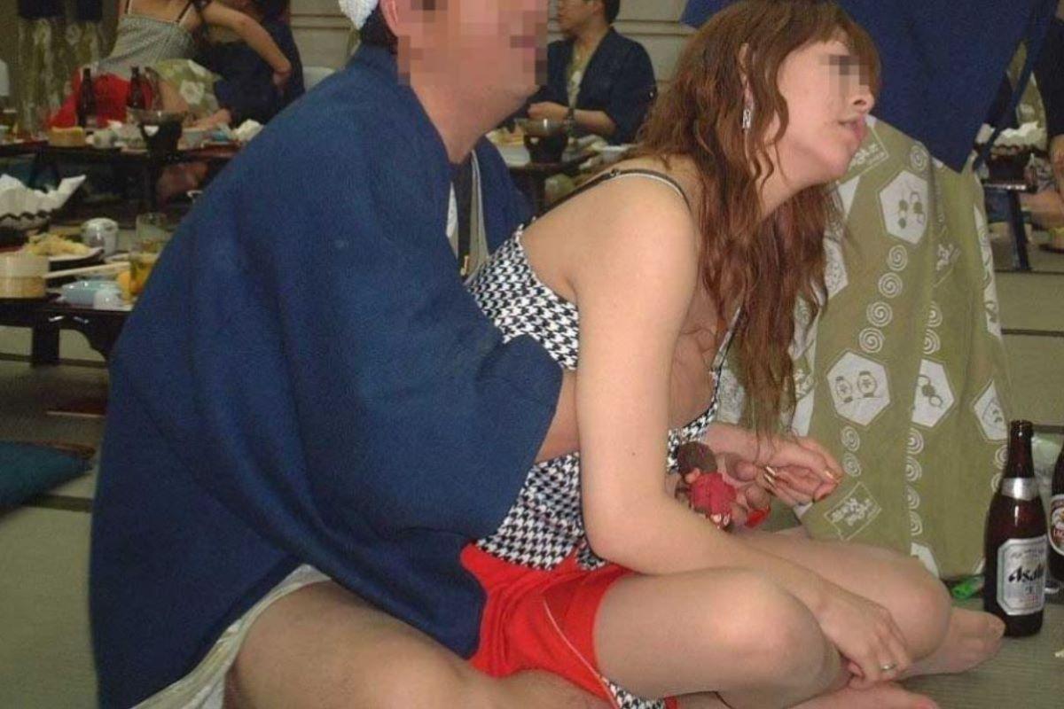 宴会など飲み会でのセクハラ・わいせつ画像 18