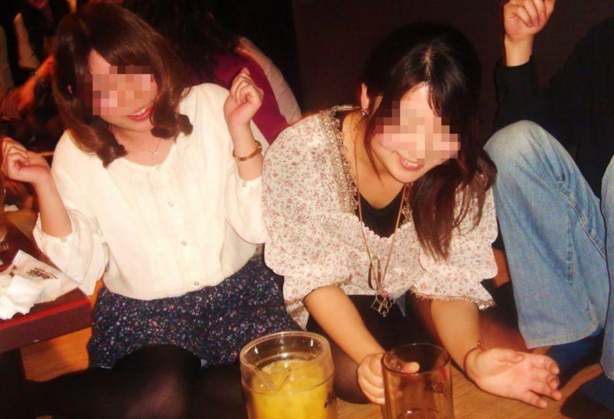 飲み会パンチラ画像 69