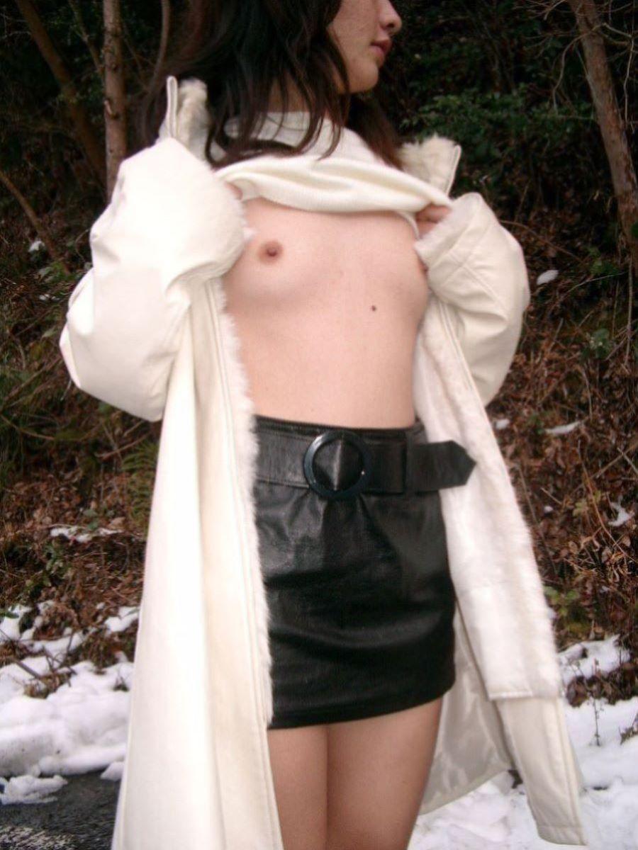 冬の野外露出画像 1