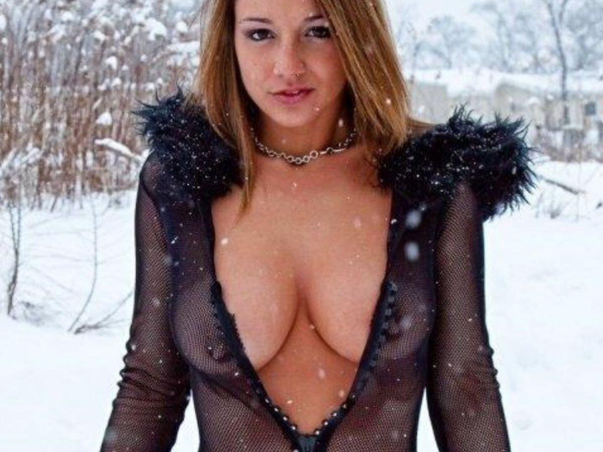 冬の野外露出画像 87