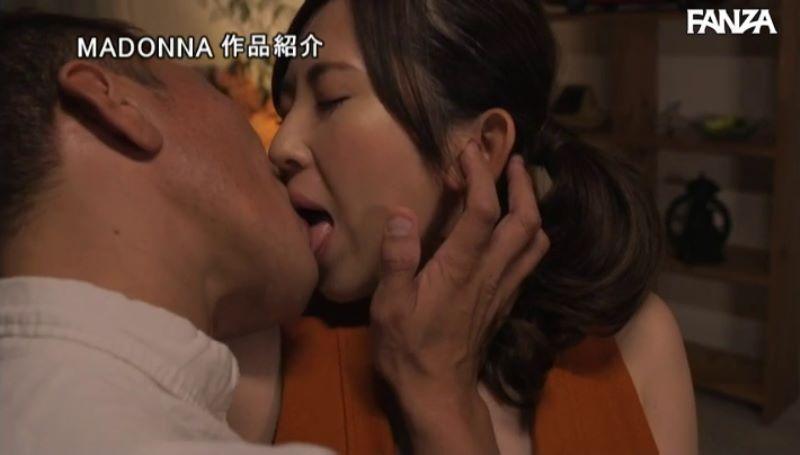 肉食系人妻 菅野真穂 セックス画像 49
