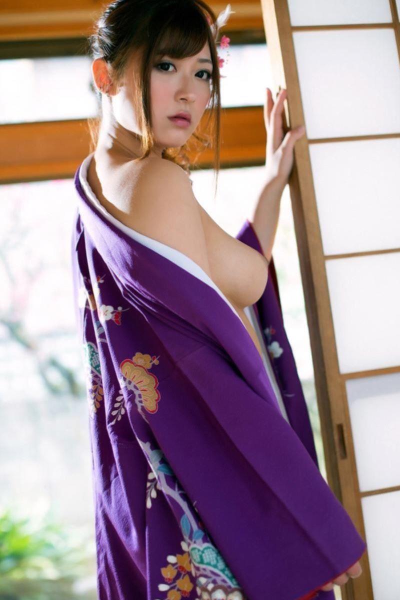 着物や浴衣の和服ヌード画像 84