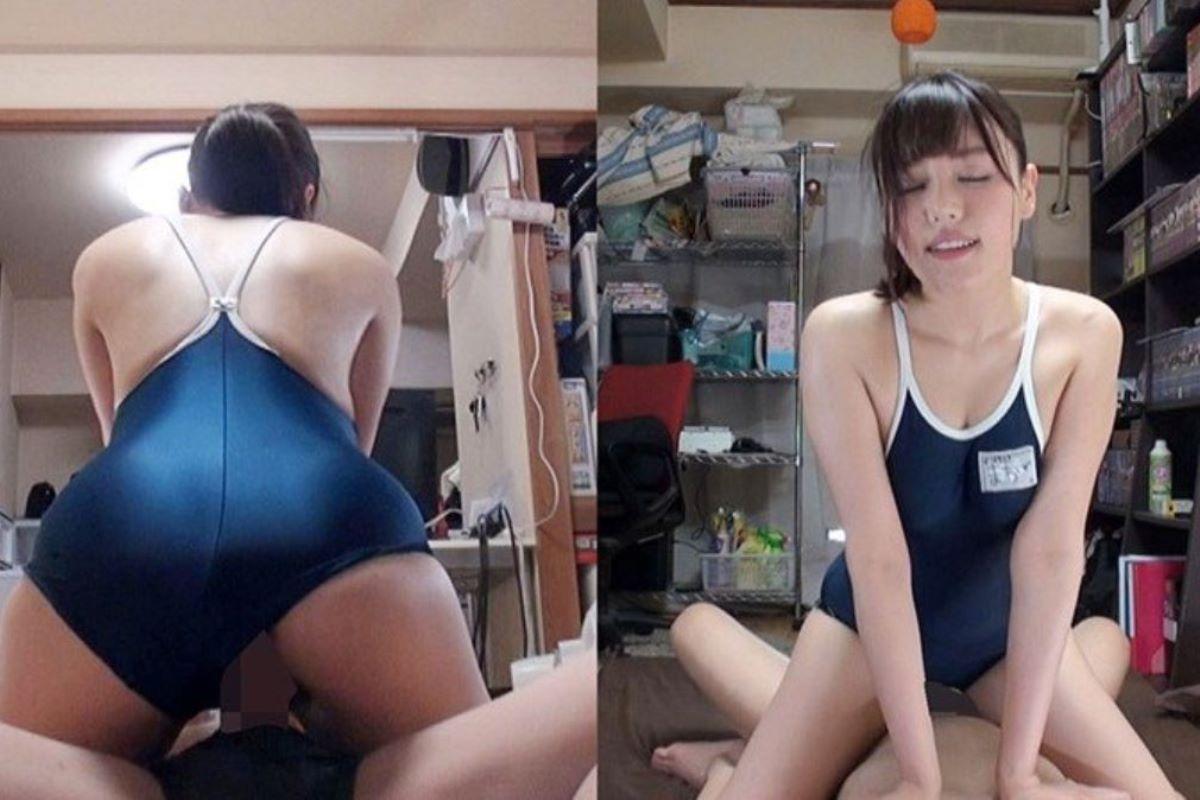 スクール水着のセックス画像 17