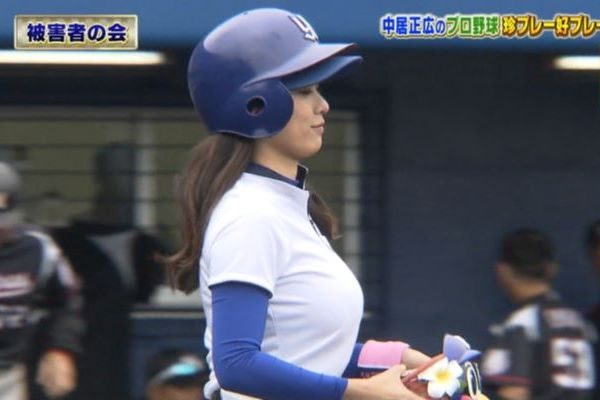 野球 ボールガール 巨乳 エロ画像 2