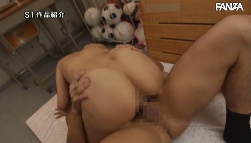 デカ尻先生 葵つかさ 騎乗位セックス画像 31