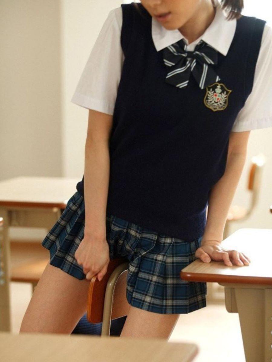 女子高生 オナニー画像 58