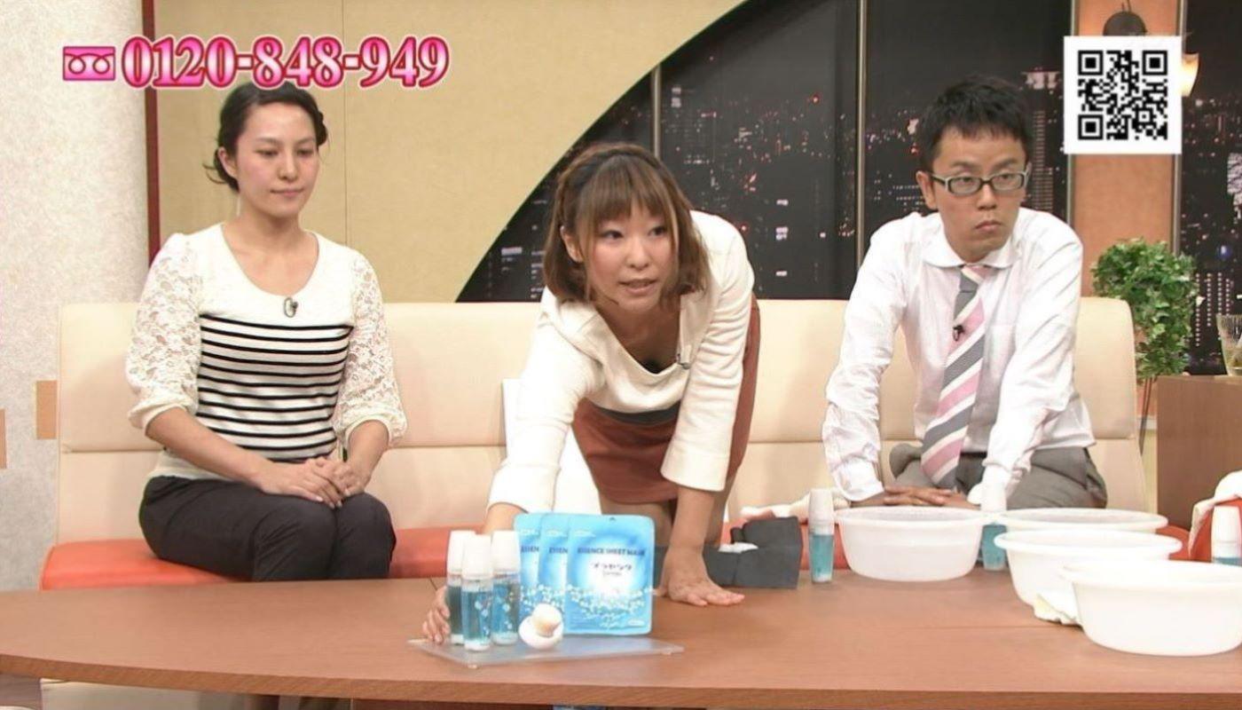 テレビの胸チラ画像 114