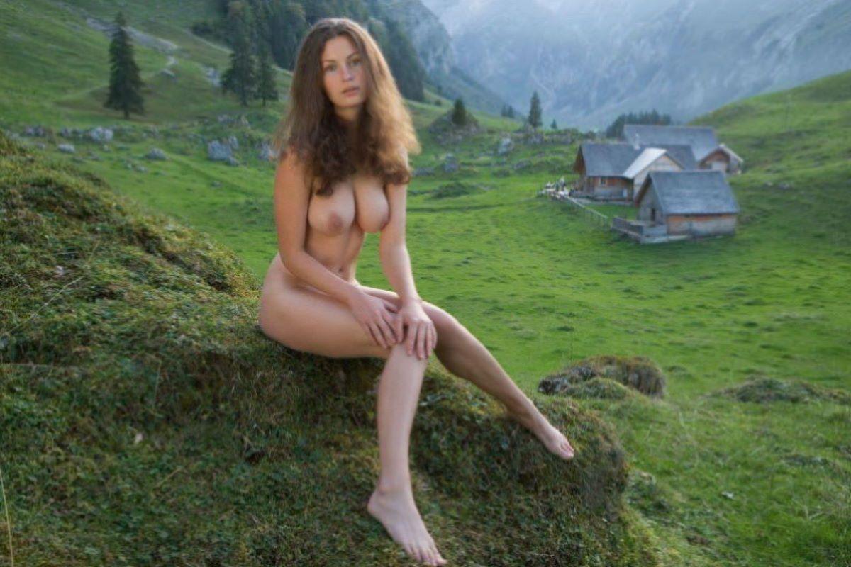 大自然の野外ヌード画像 111