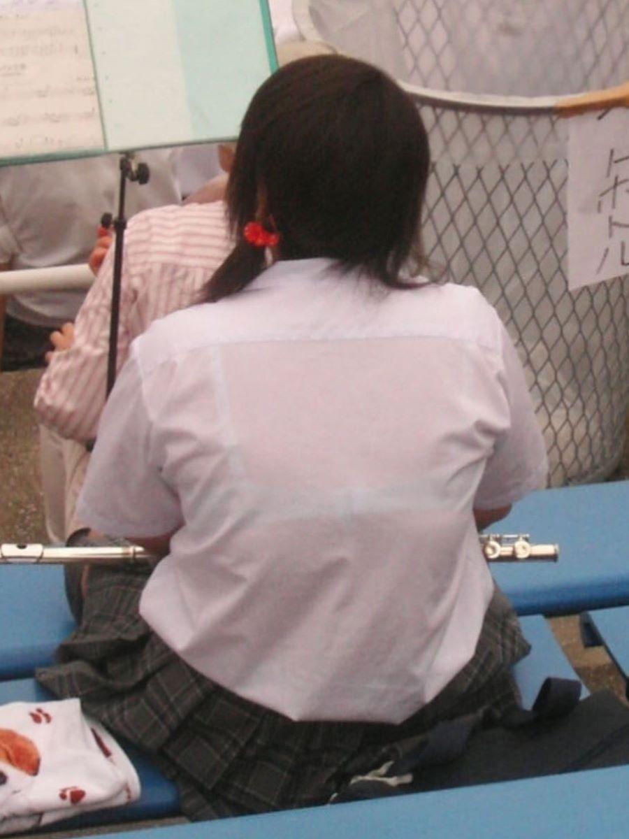 制服JK 透けブラ画像 3
