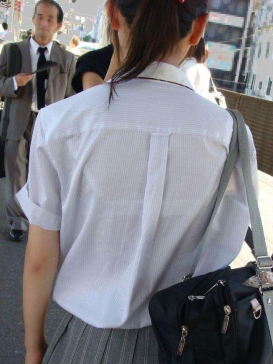 制服JK 透けブラ画像 63