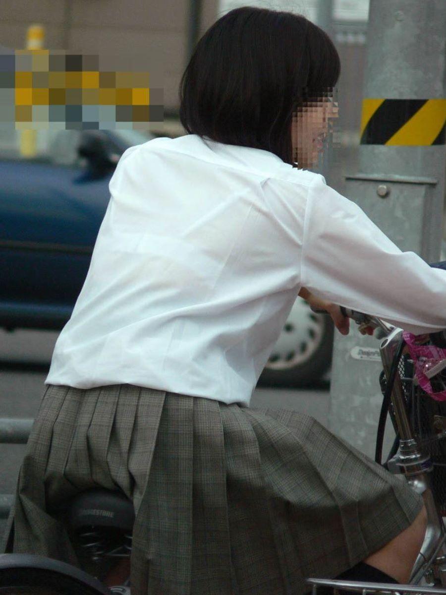 制服JK 透けブラ画像 87