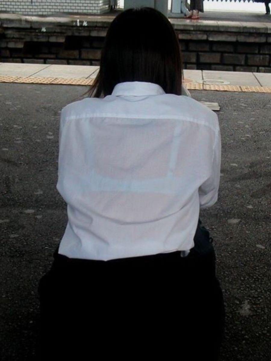 制服JK 透けブラ画像 116