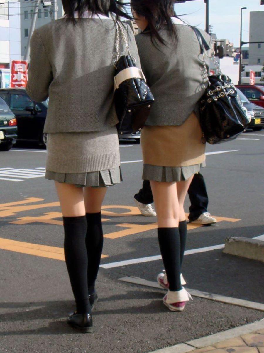 冬服JK 街撮り画像 3