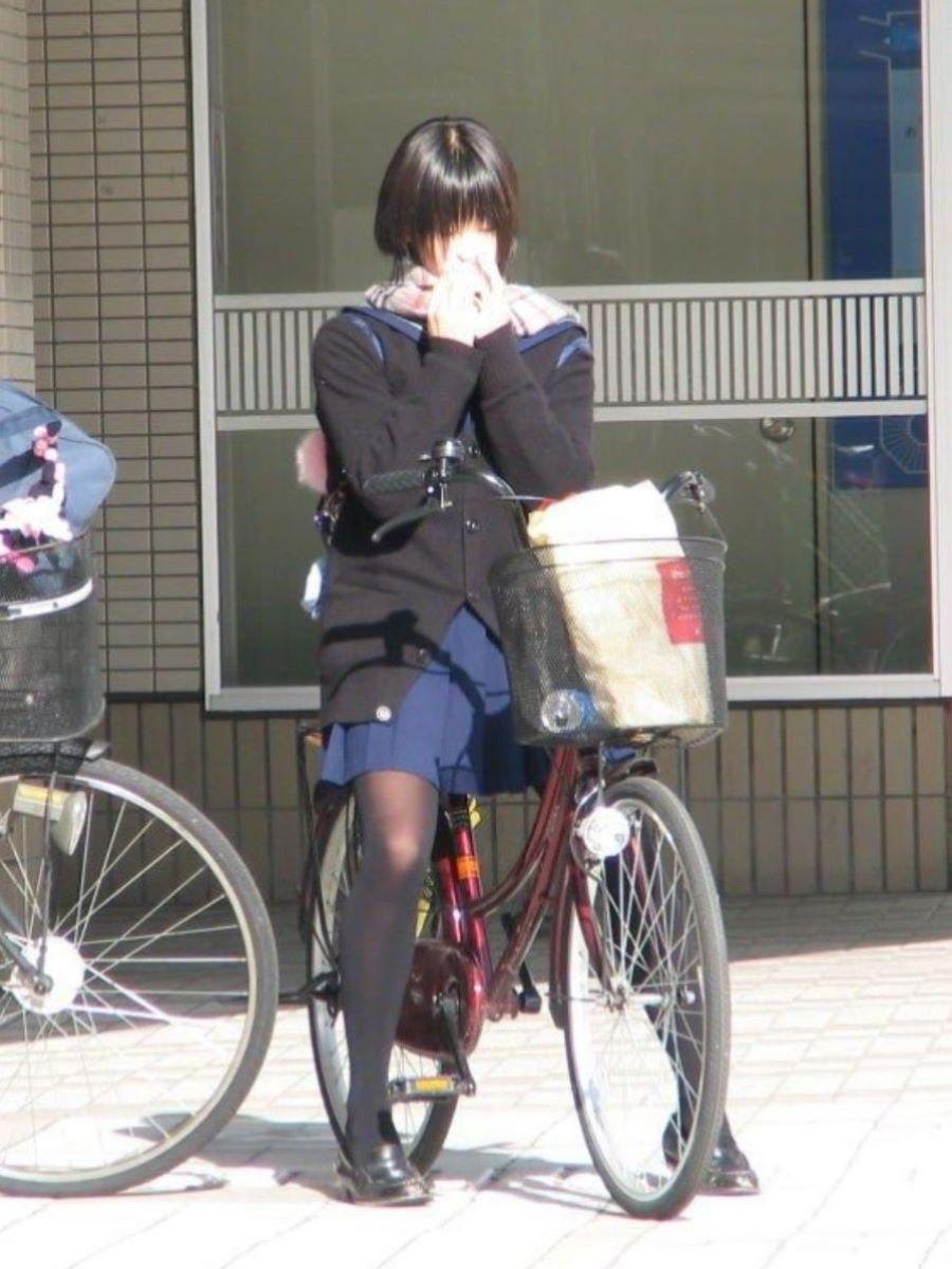 冬服JK 街撮り画像 30