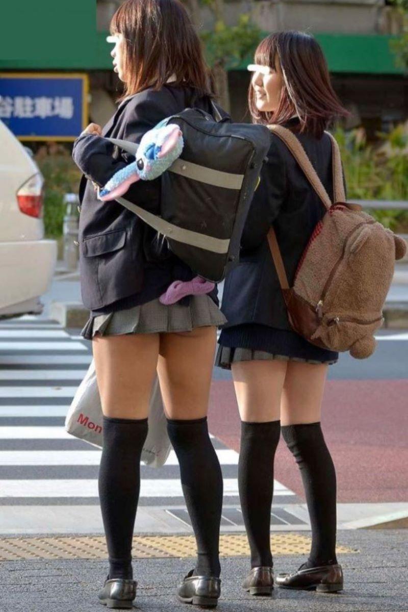 冬服JK 街撮り画像 37