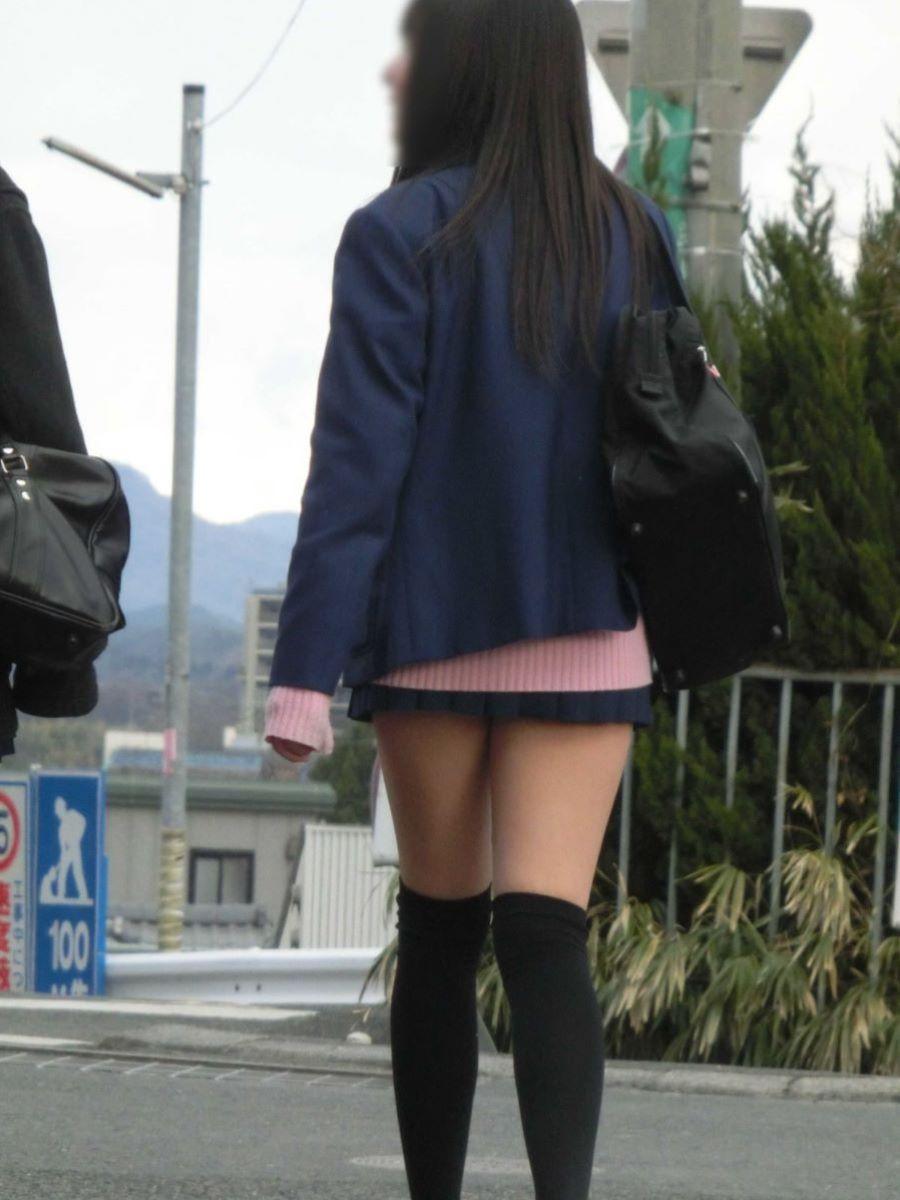 冬服JK 街撮り画像 95
