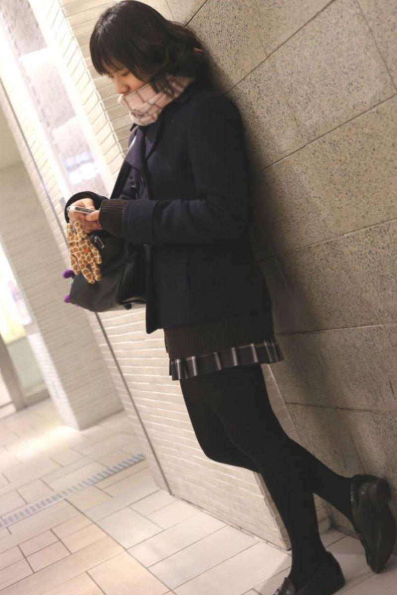 冬服JK 街撮り画像 109
