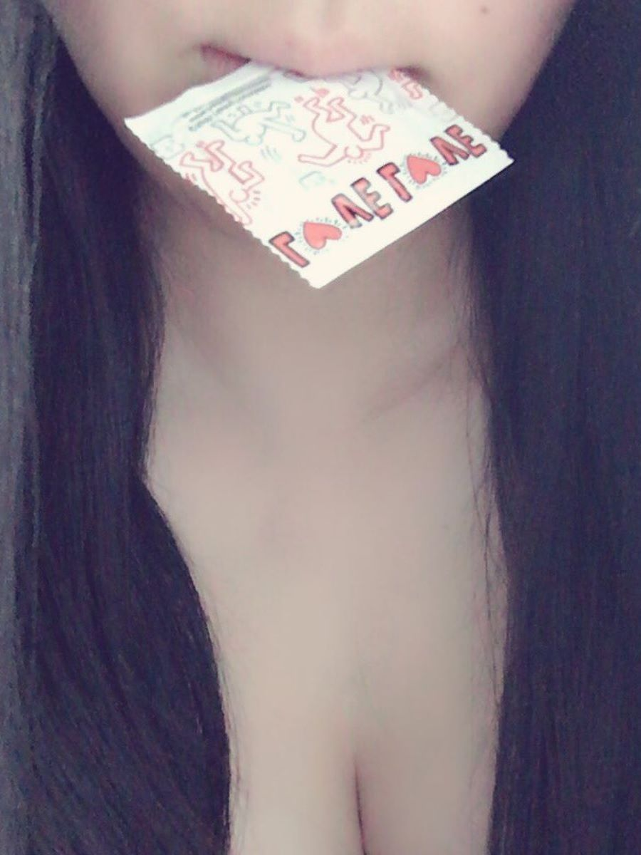咥えコンドーム 画像 34
