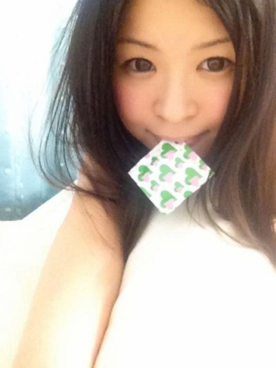 咥えコンドーム 画像 69