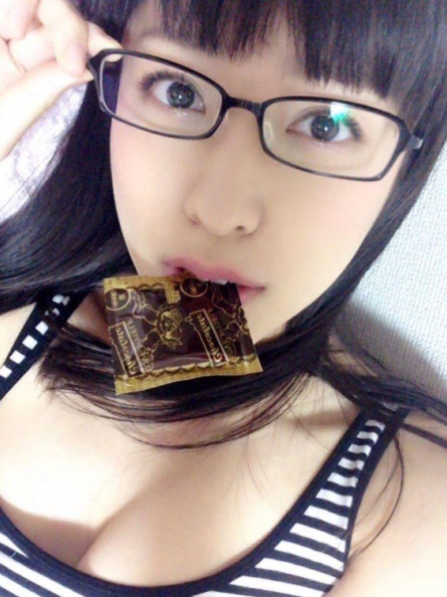 咥えコンドーム 画像 116
