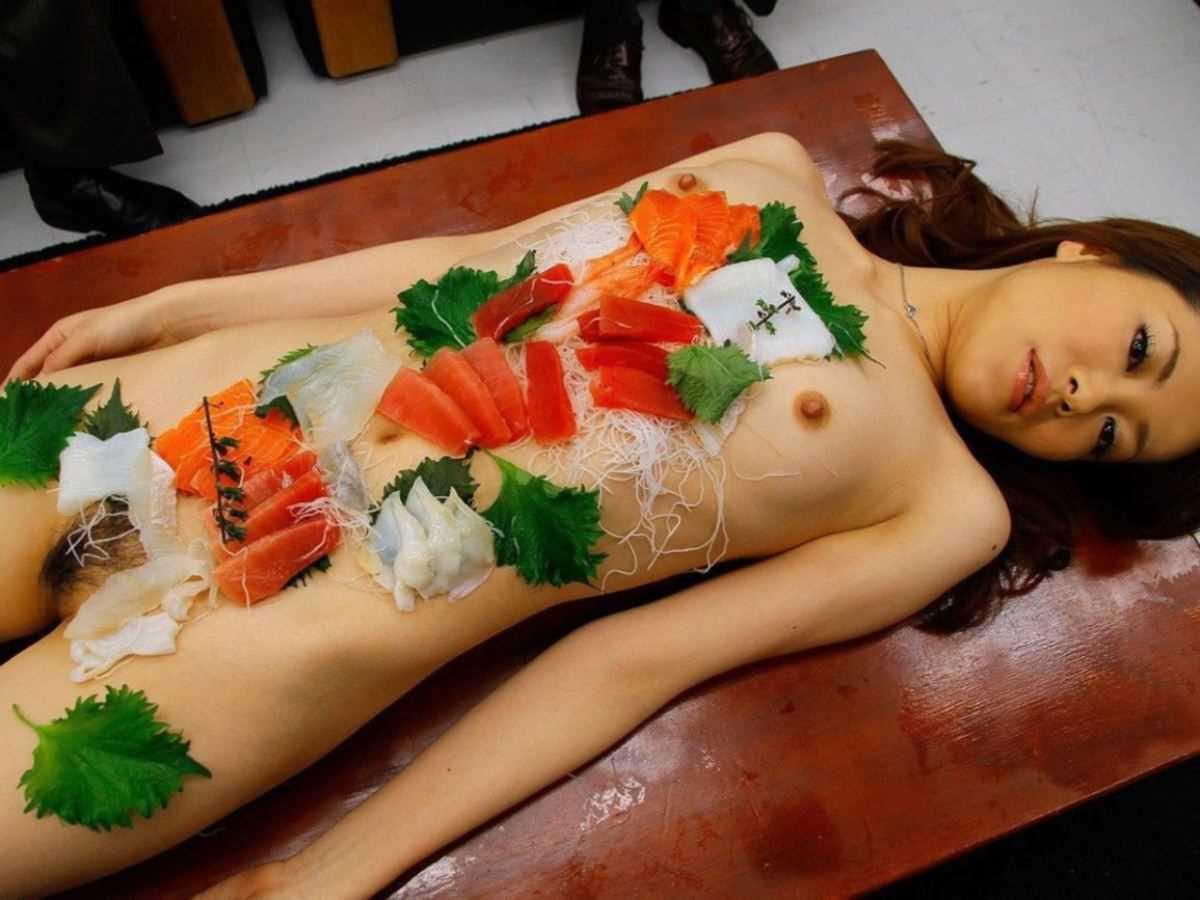 女体盛り 画像 11