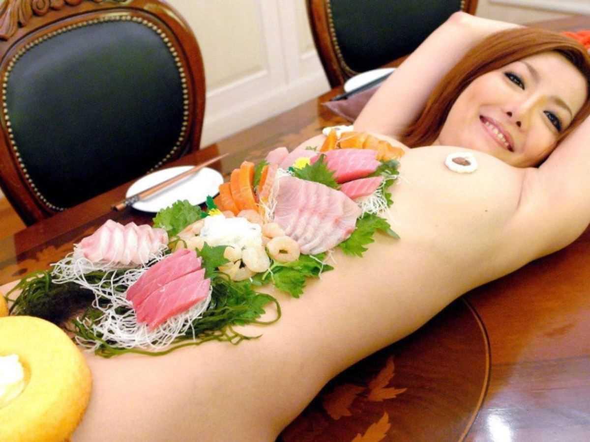 女体盛り 画像 18