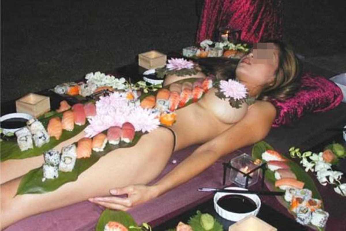 女体盛り 画像 26