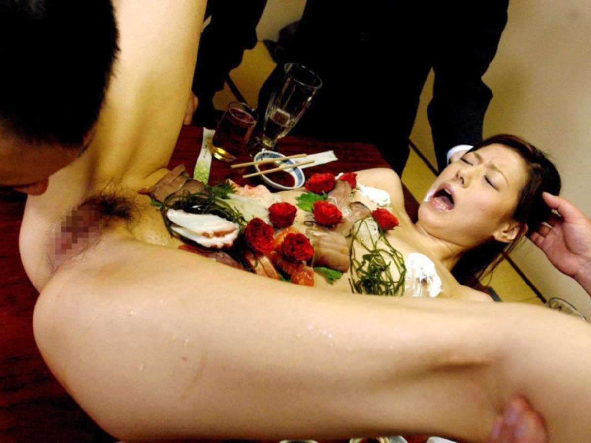 女体盛り 画像 30