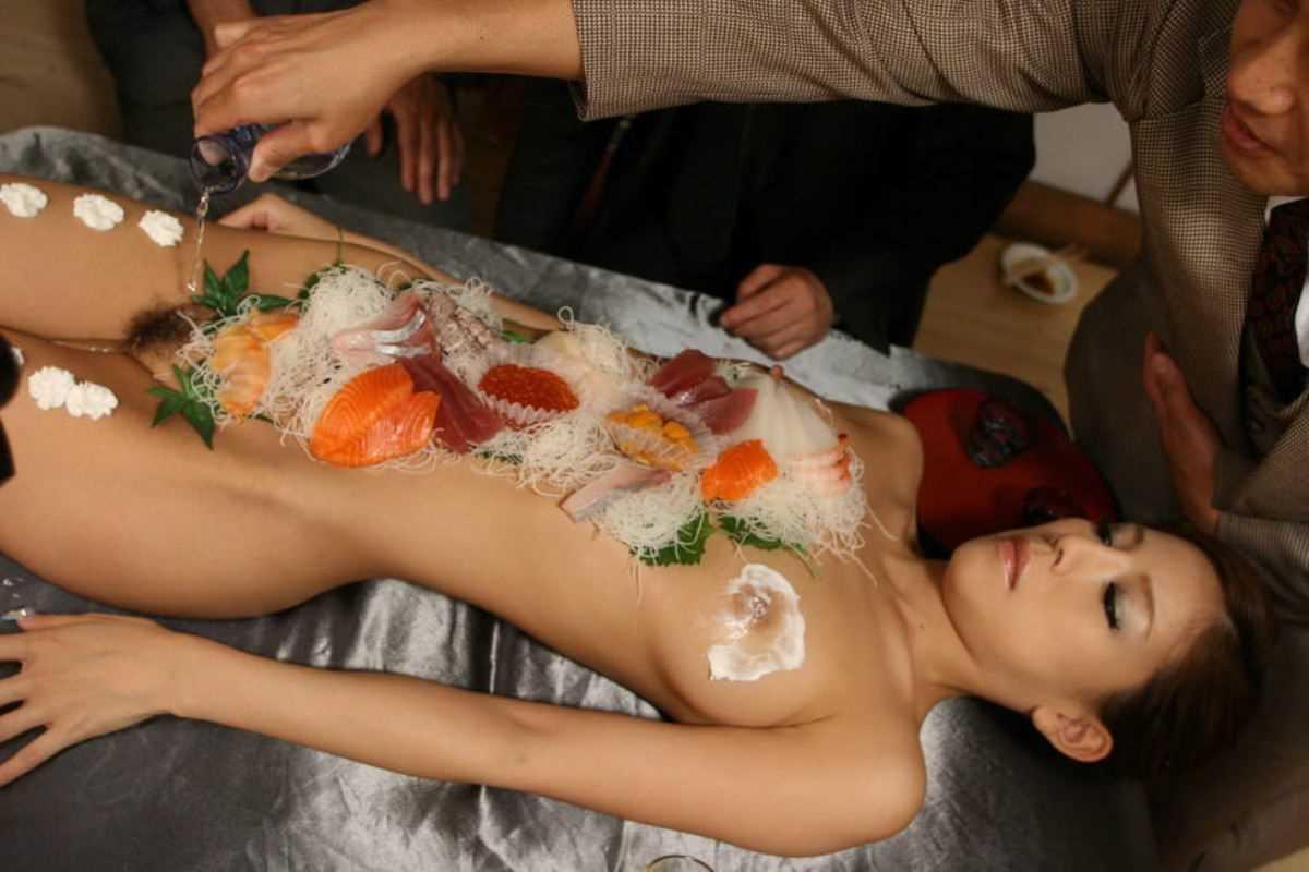 女体盛り 画像 35
