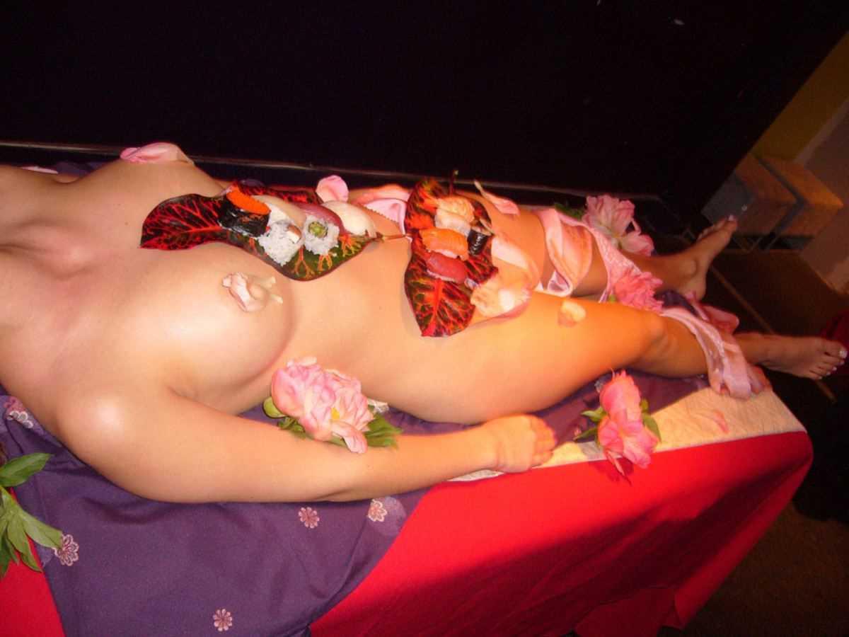 女体盛り 画像 44