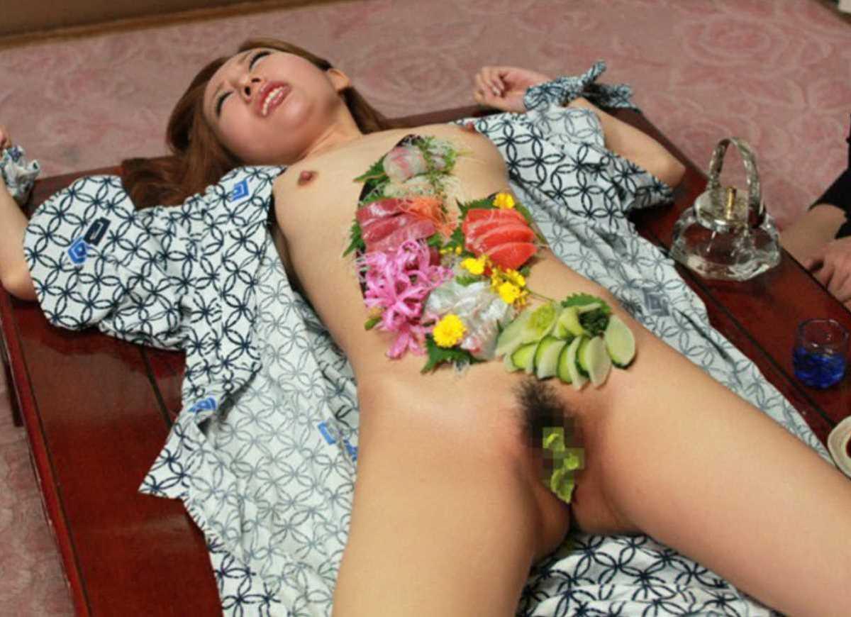女体盛り 画像 61