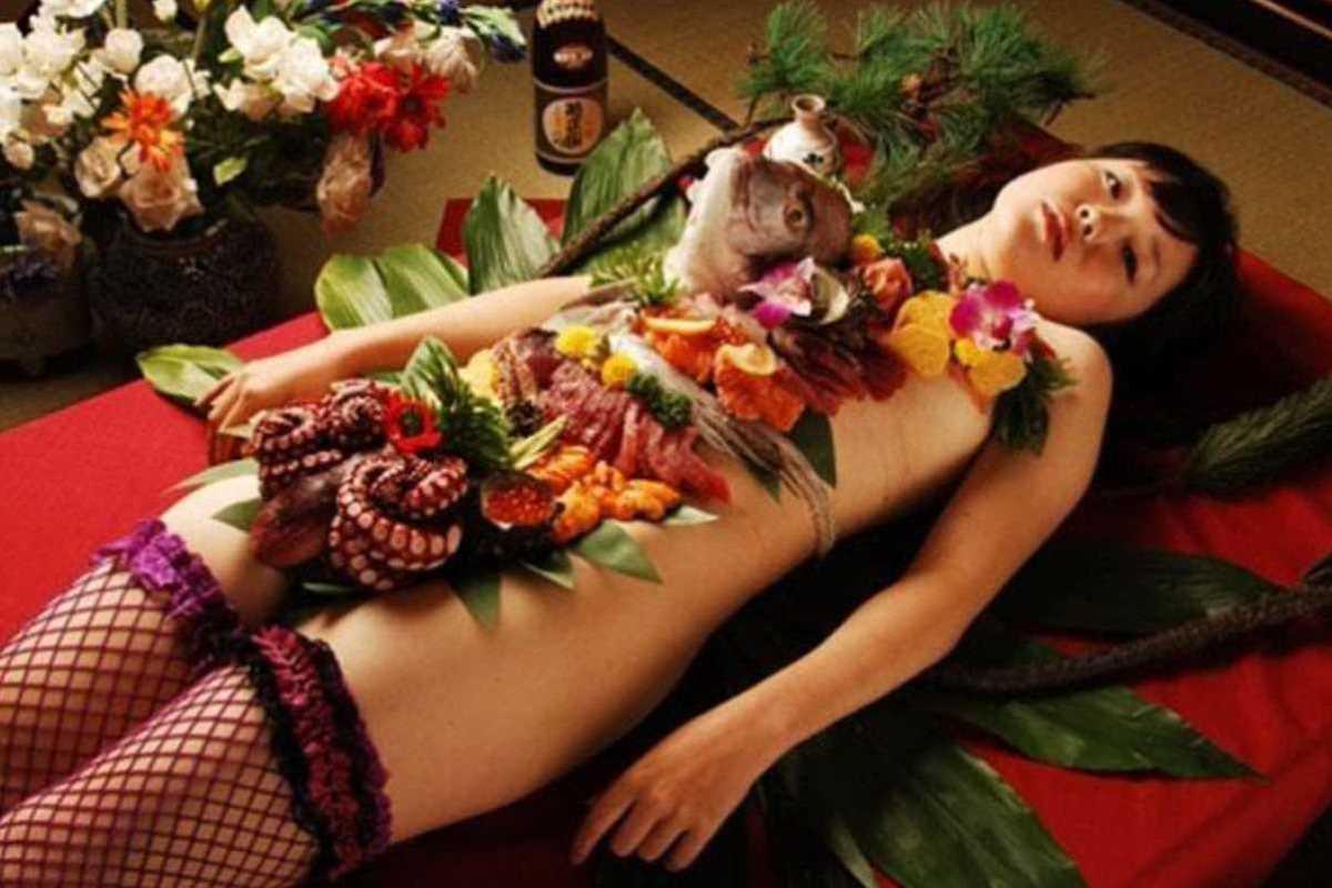 女体盛り 画像 76