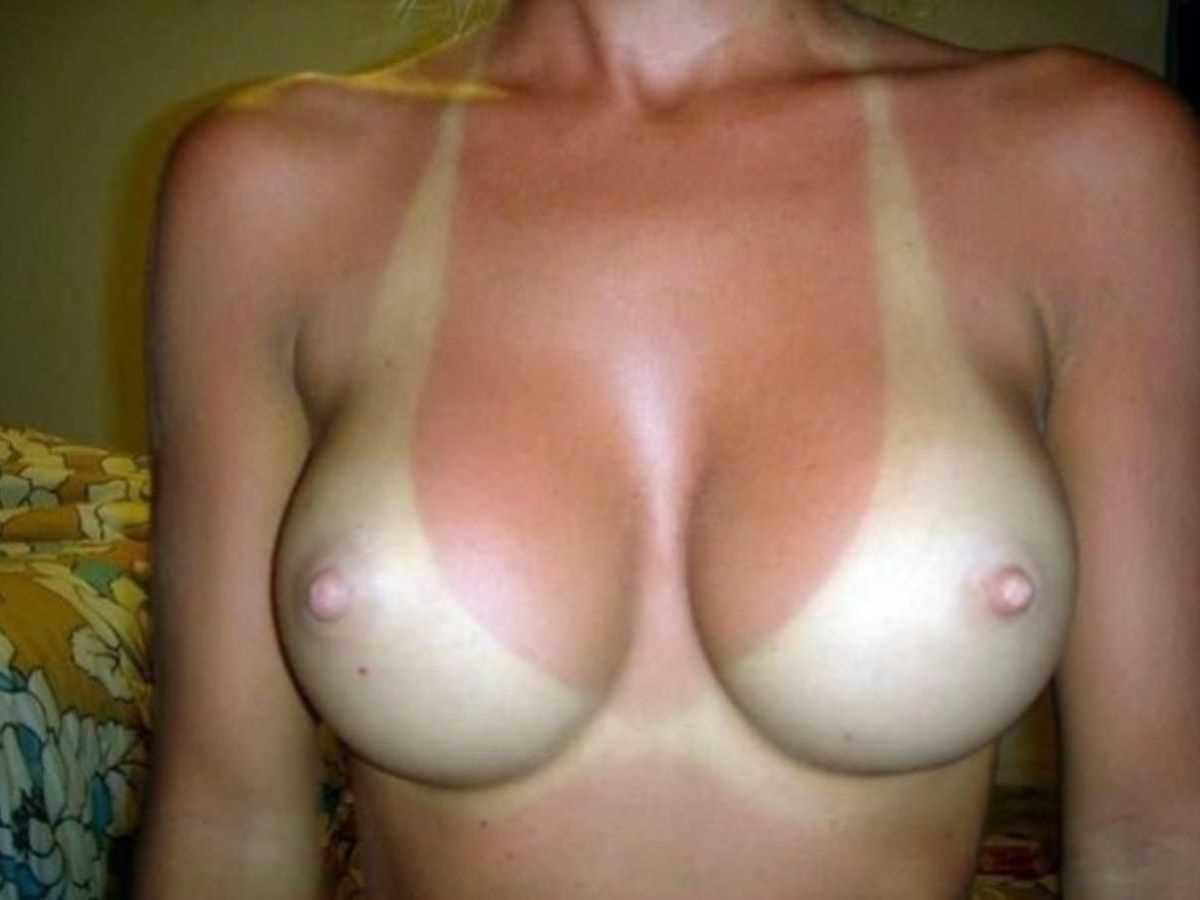 日焼け跡 ヌード画像 45
