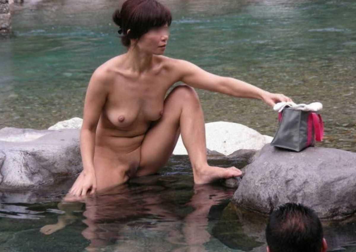 露天風呂盗撮 画像 47
