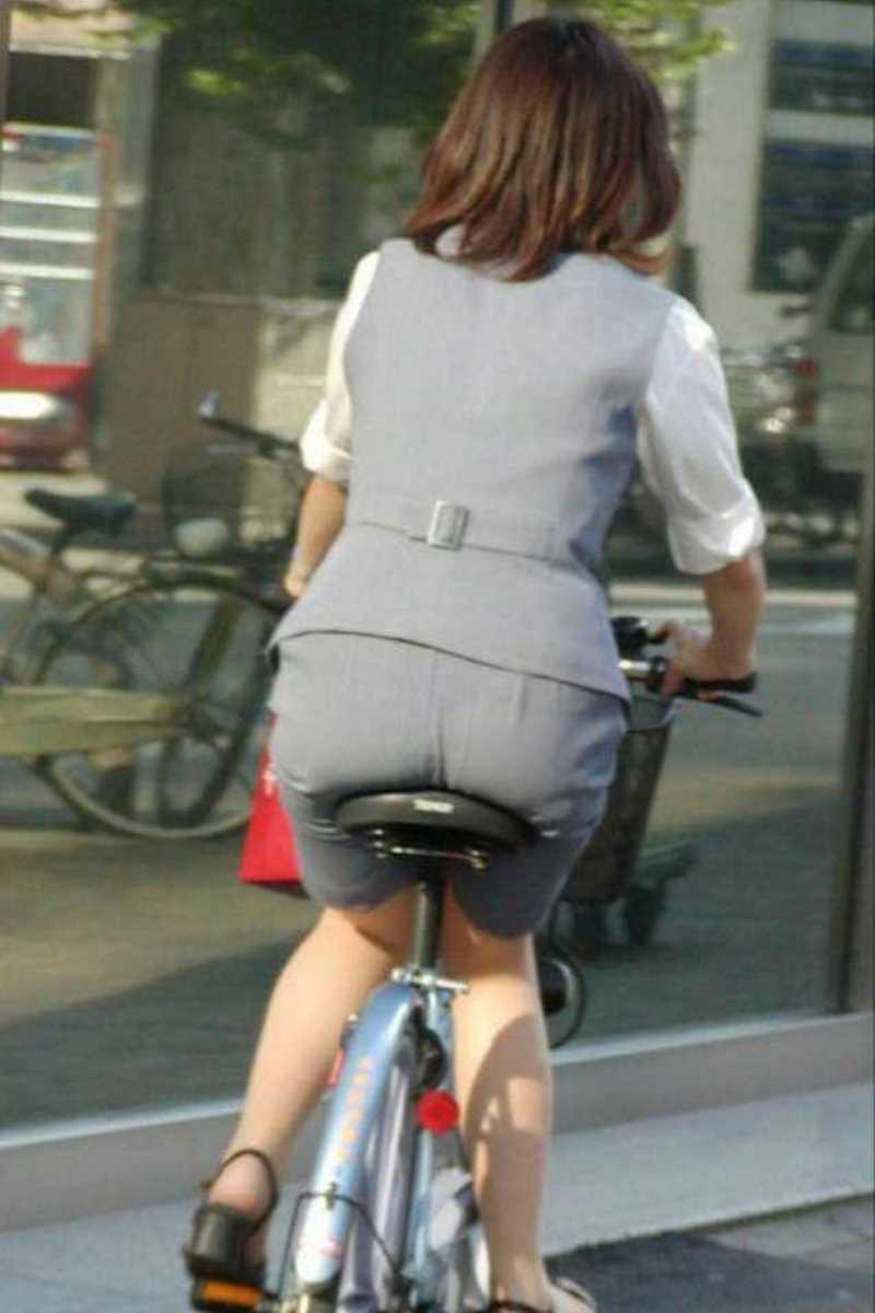 自転車OL画像 69