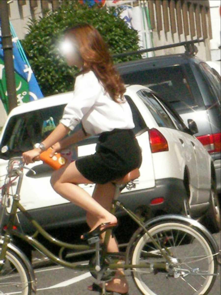 自転車OL画像 94